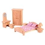 ★PLAN TOYSの木製玩具(木のおもちゃ)★9016★ クラシックベッドルーム