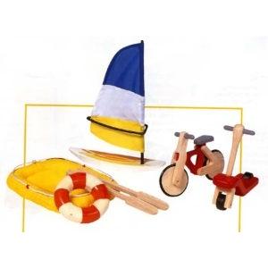 PLAN TOYS(プラントイ) ★木製玩具(木のおもちゃ)★6109★ アウトドアスポーツ - 拡大画像