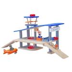 ★PLAN TOYSの木製玩具(木のおもちゃ)★6226★ エアポート