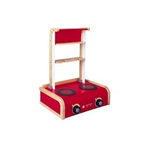PLAN TOYS(プラントイ) ★木製玩具(木のおもちゃ)★34110★キッチンコンロ(2007年バージョン) - 拡大画像