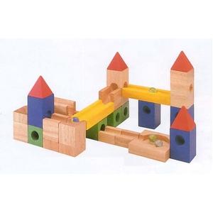 ★PLAN TOYSの木製玩具★9001★ビルドアンドロール