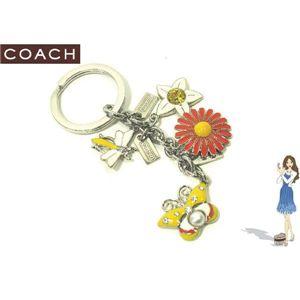 COACH(コーチ) キーホルダー スプリング タイム メドウ ミックス キーフォブ 92281 - 拡大画像