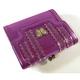 【訳あり】Anna Sui(アナスイ) 3つ折り財布 オデオン パープル  - 縮小画像5