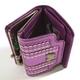 【訳あり】Anna Sui(アナスイ) 3つ折り財布 オデオン パープル  - 縮小画像6