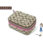 【¥11,980】Coach(コーチ) ピルケース シグネチャー ピルケース ピンク 60353