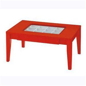 コレクションテーブル CLT-17-RD レッド