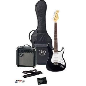 SX エレクトリックギター FST62K ブラック - 拡大画像