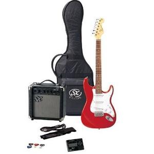 SX エレクトリックギター FST62K キャンディアップルレッド - 拡大画像