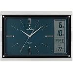 TECHNOS(テクノス) 掛時計 カレンダーメロディークロック W-540 DBU