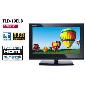19V型地上デジタルテレビ TLD-19PLB(ミッキーリモコン付き) - 拡大画像