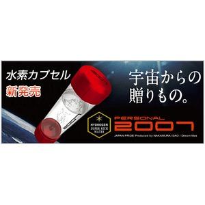 水素水生成カプセルパーソナル2007 レッド