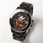 Disney(ディズニー) ミッキーマウスウォッチD91084-SVBK/ブラック激安通販