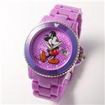 Disney(ディズニー) ミッキーマウスウォッチD91084-SVPU/パープル激安
