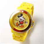 Disney(ディズニー) ミッキーマウスウォッチD91084-SVYE/イエロー激安