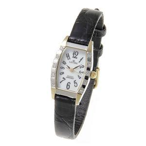 LEOBE(リオベ) 本ワニ革ベルト 腕時計 YL-319LB ブラック - 拡大画像
