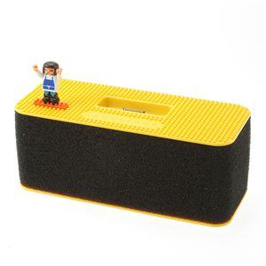 nano block(ナノブロック) iPod スピーカー NAIP-01011YE イエロー - 拡大画像