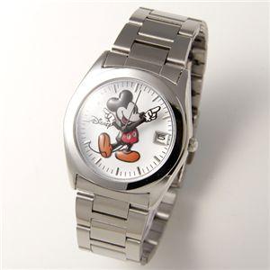 Disney レディース メタルブレスウォッチ D91132SVWH/シルバー・ホワイト