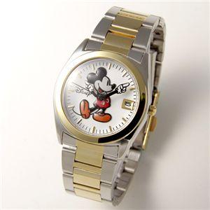 Disney レディース メタルブレスウォッチ D91132GDSVWH/ゴールド・シルバー・ホワイト
