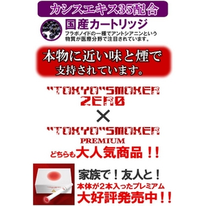 【電子タバコ】トウキョウスモーカーゼロ TS-ZERO本体+ケース(ゴールド)セット