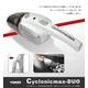 サイクロン掃除機 コードレススティックタイプ ブラック 写真4