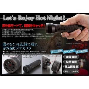 赤外線暗視 小型ビデオカメラ