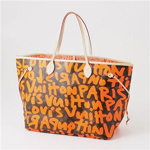 LOUIS VUITTON(ルイ・ヴィトン) ネヴァーフル GM モノグラム グラフィティ オランジュ(オレンジ)