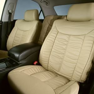 Dohm製 本革調シートカバー Sedanモデル クラウン用<BR> 【T132】 ベージュ 1台分