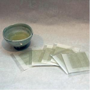 【お中元用 のし付き(名入れ不可)】大山山麓「くま笹茶」 2箱
