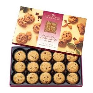 【ハワイ土産】  ハワイアンキング マカデミアナッツチョコチップクッキー 6箱セット - 拡大画像