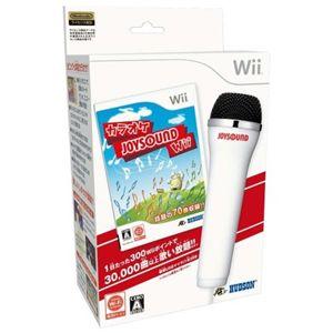 カラオケJOYSOUND Wii(Wii専用USBマイク1本同梱) - 拡大画像