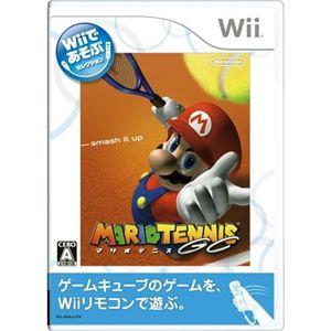 Wiiであそぶ マリオテニスGC - 拡大画像