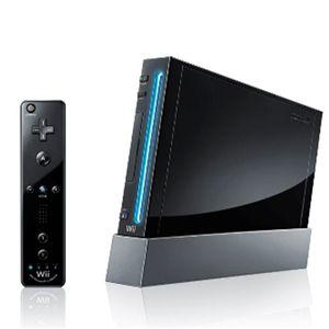 任天堂 Wii 本体 + Wii スポーツリゾート セット (本体:クロ) - 拡大画像