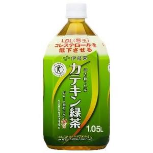 【特定保健用食品】伊藤園 カテキン緑茶1.05L×36本セット