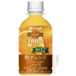 伊藤園 ビタミンフルーツ 熟オレンジ 240g×48本セット