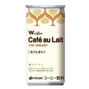 伊藤園 Wコーヒー カフェオレ 190g×60本セット