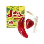 フルーツ型マッサージャー ジューシージャングル ストロベリー