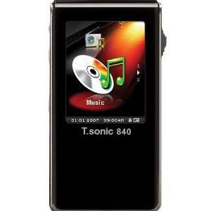 トランセンド 4GB T.sonic 840 MP3プレーヤー TS4GMP840