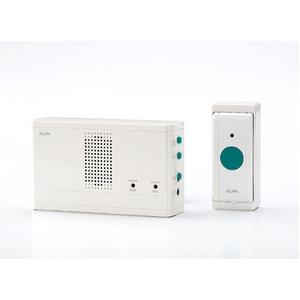 ELPAワイヤレスチャイム押しボタンセットEWS-1001