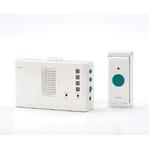 【ELPA ワイヤレスチャイムランプ付受信器セット】 配線が不要なワイヤレスタイプ