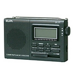 ELPA AM/FM/短波ラジオ ER-21T