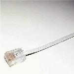 ミヨシ(MCO) フラットLANケーブル(カテゴリー6準拠) 20m TWF-620W
