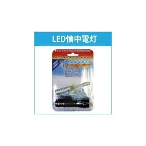 備蓄用に最適 水電池nopopo 単3水電池付LED懐中電灯セット NWP-LED - 拡大画像