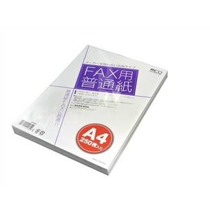 ミヨシ(MCO)FAX用紙(A4サイズ)250枚いりFXP-250【5個セット】
