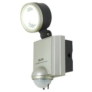 【防犯グッズ】【防水】ELPA LEDセンサーライト1灯  ESL-401AC - 拡大画像