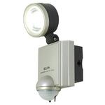 【防犯グッズ】【防水】ELPA LEDセンサーライト1灯  ESL-401AC