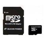 シリコンパワー 16GBマイクロSDHCカ-ド(CLASS10) 5枚セット SP016GBSTH010V10-SP×5P