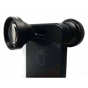 ルーメン iPhone5/5s専用3in1レンズ ブラック LM-FMST - 拡大画像