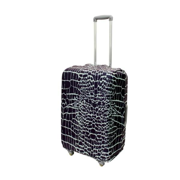 ミヨシ スーツケースカバー Mサイズ CROCODILE MBZ-SCM2/CRf00