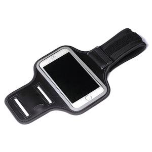 PGA iJacket SPORTS  iPhone 6対応アームバンド PG-SPB01BK - 拡大画像