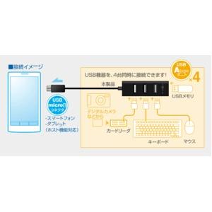 ミヨシ(MCO) USB 4ポート ハブ機能搭...の紹介画像3